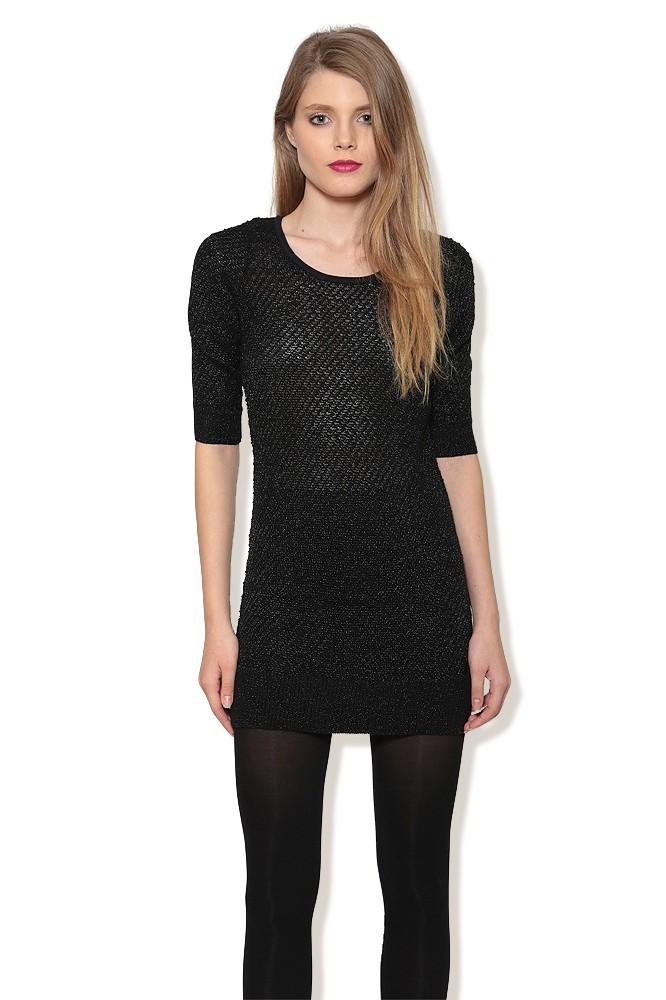 Tunica neagra tricot MISCHA