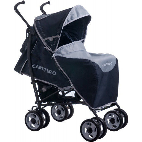 Caretero - Carucior Spacer Deluxe grey