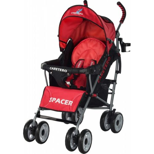 Caretero - Carucior Sport Spacer red