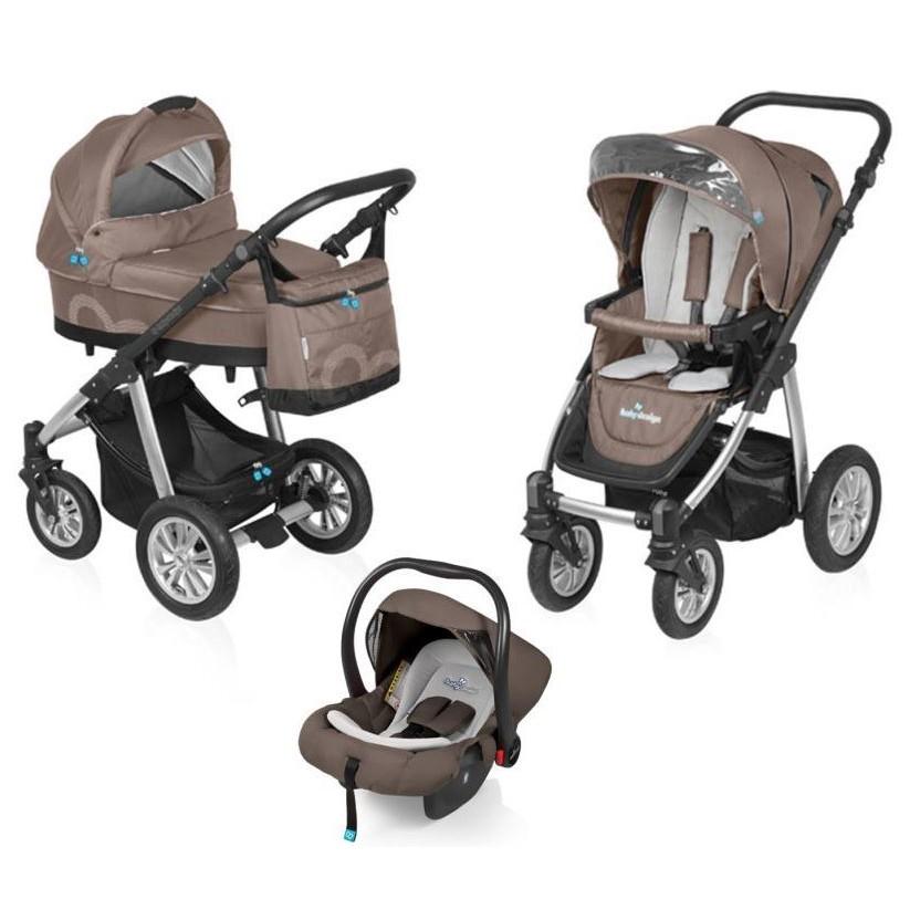 Carucior Baby Design Lupo Comfort 3 in 1 Beige