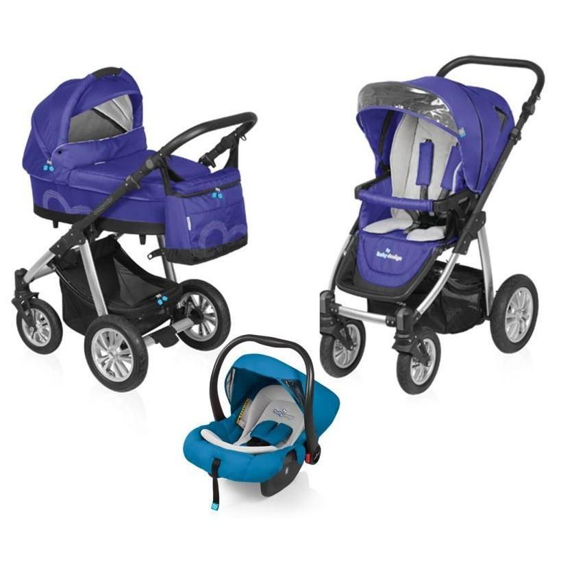 Carucior Baby Design Lupo Comfort 3 in 1 Violet