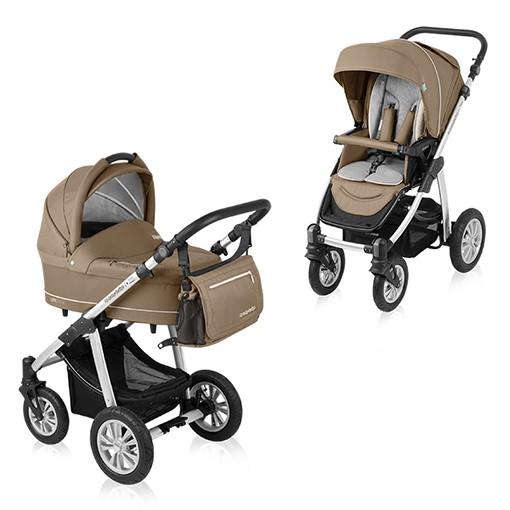 Carucior multifunctional 2 in 1 Baby Design Lupo Comfort Beige