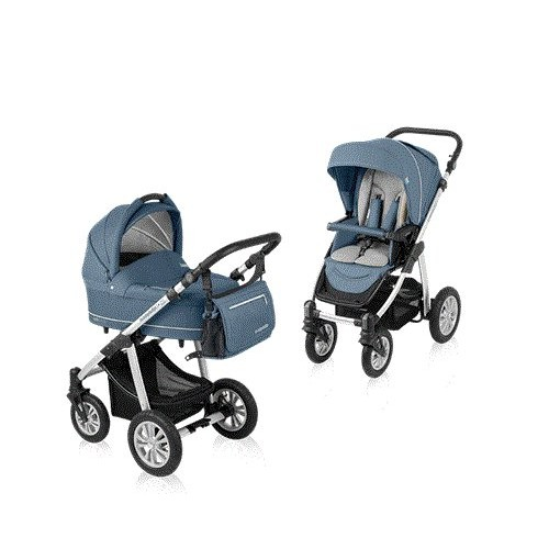 Carucior multifunctional 2 in 1 Baby Design Lupo Comfort Steal