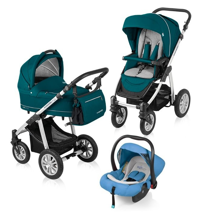 Carucior multifunctional 3 in 1 Baby Design Lupo Comfort Pacific
