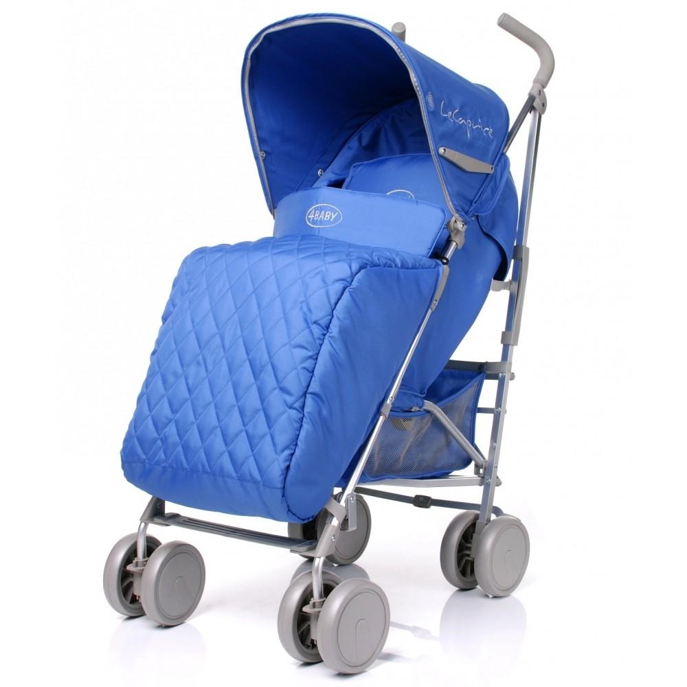 Carucior sport 4Baby Lecaprice Albastru