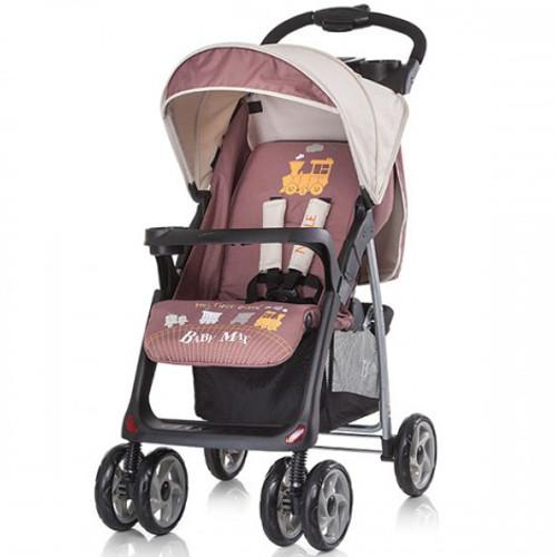 Chipolino - Carucior Baby Max Nicole 2 in 1 Brown