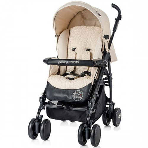 Chipolino - Carucior Pooky Travel 3 in 1 2014 Champagne