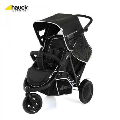 Hauck - Carucior Dublu Freerider SH 12 Black
