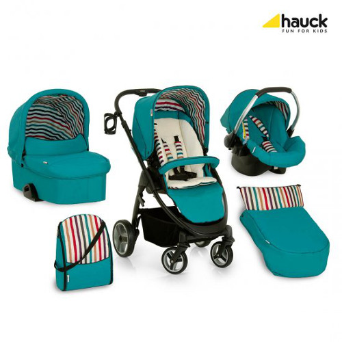 Hauck - Set Carucior Lacrosse All in One Everglade