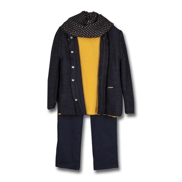 Compleu fete Pantalon 14331 Bleumarin