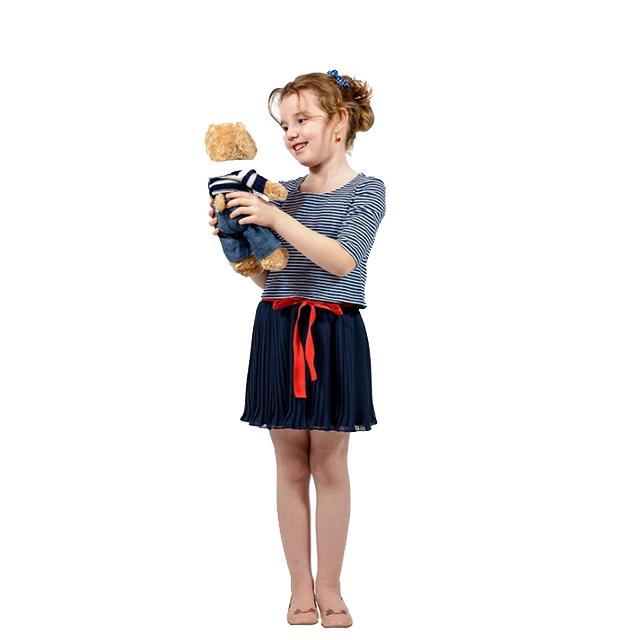 Costum Elfbebe Navy pentru fetite