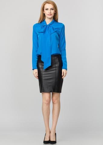 Camasa albastra cu funda