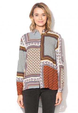 Camasa multicolora cu imprimeuri diverse limitte
