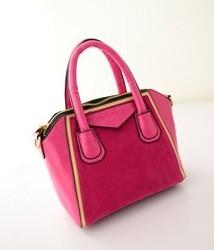 Geanta Sucre Pink Velvet