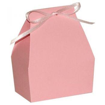 Cutie marturie Cosulet roz