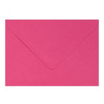 Plic colorat invitatie / felicitare Fuchsia 130 x 130 mm