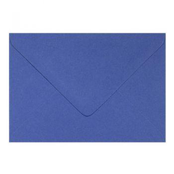 Plic colorat invitatie / felicitare albastru iris 130 x 130 mm
