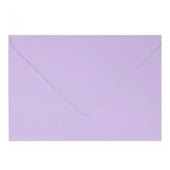 Plic colorat invitatie / felicitare lila 110 x 220 mm