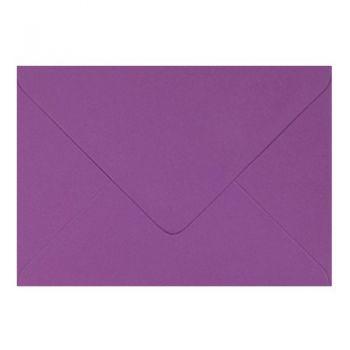 Plic colorat invitatie / felicitare mov 114 x 162 mm