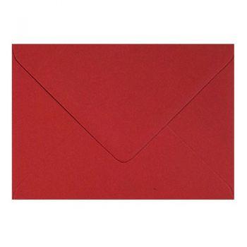 Plic colorat invitatie / felicitare rosu 114 x 162 mm