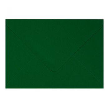 Plic colorat invitatie / felicitare verde 130 mm x 130 mm