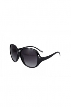 Ochelari de soare rotunzi 4 - Negru