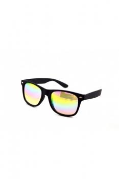 Ochelari de soare cu lentile semi-transparente sidefate Wayfarer
