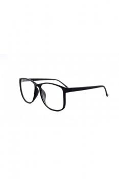 Rame - Ochelari cu lentile transparente Justin - Negru
