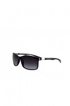 Ochelari de soare Rectangular - Negru