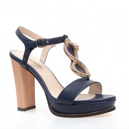 Sandale cu toc de dama MENBUR accesorizate metalic
