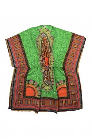 Rochie de plaja multicolora