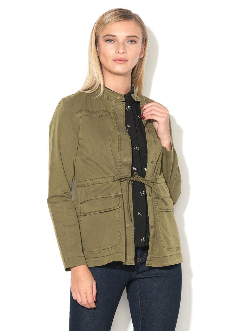Jacheta cargo cu snur pentru ajustare Naomi Vero Moda