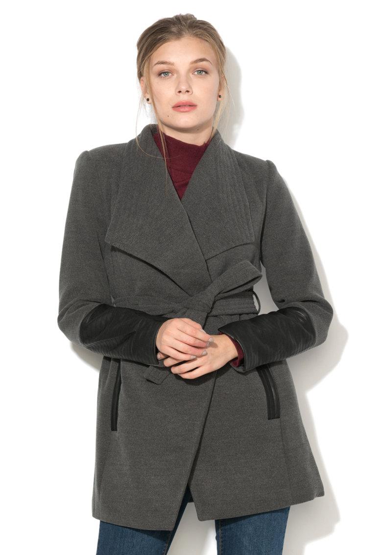Palton cu revere late Cala Vero Moda
