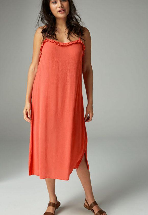 Rochie cu detalii cu volane-rochii-NEXT
