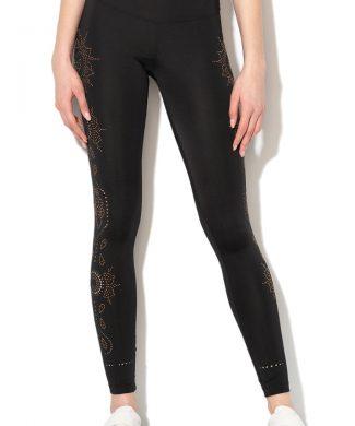 Colanti cu decupaje laterale - pentru fitness Posicional-Pantaloni si salopete-DESIGUAL