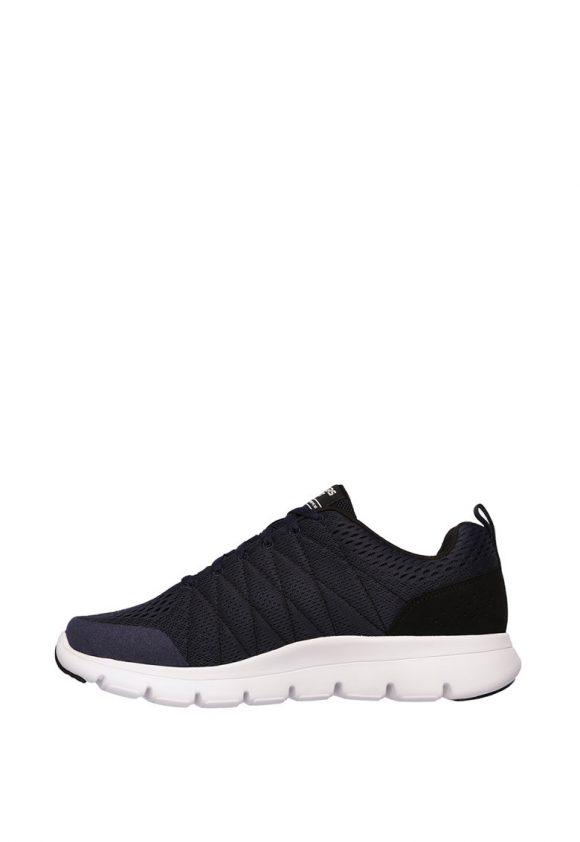 Pantofi sport cu aspect tricotat Marauder-Mershon-tenisi-Skechers