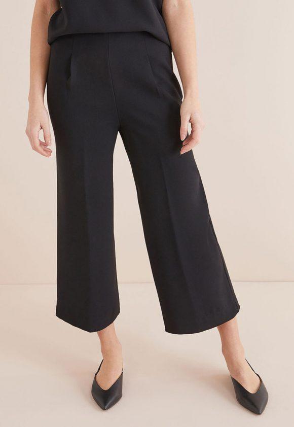 Pantaloni culotte cu pensa pe partea din fata-pantaloni si colanti-NEXT