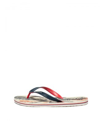 Papuci flip flop cu model Hawi Ian-papuci-Pepe Jeans London