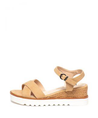 Sandale wedge de piele ecologica-sandale-MTNG
