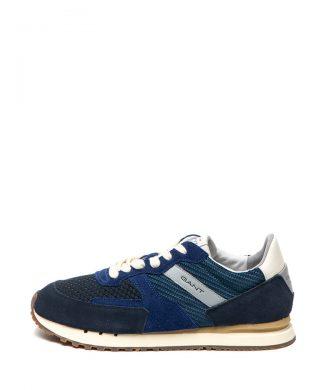 Pantofi sport cu garnituri de piele intoarsa Davenport-tenisi-Gant