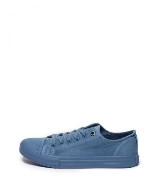 Tenisi de denim cu aplicatie cap toe-tenisi-BIG STAR