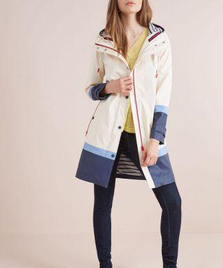 Jacheta de ploaie cu model colorblock-jachete-NEXT