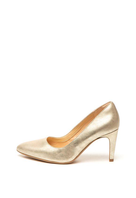Pantofi de piele cu varf ascutit Lana-pantofi clasici-Clarks