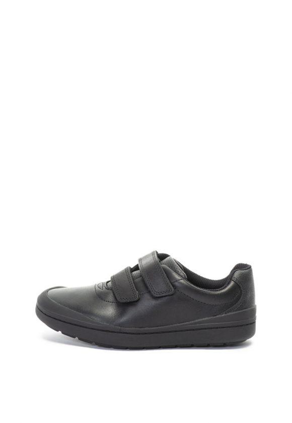 Pantofi casual de piele si piele ecologica Rock Play-pantofi clasici-Clarks
