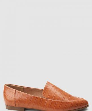 Pantofi loafers de piele ecologica-mocasini-NEXT