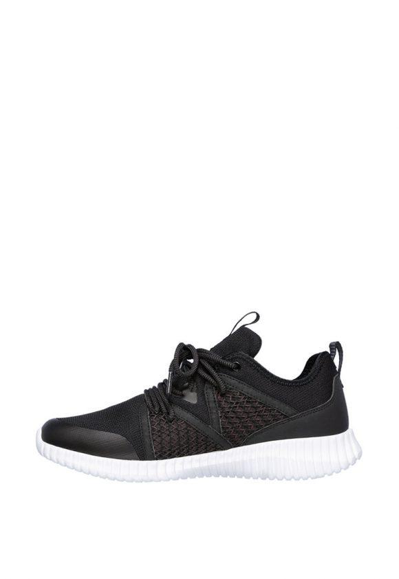 Pantofi sport de plasa cu branturi cu amortizare Elite Flex-tenisi-Skechers