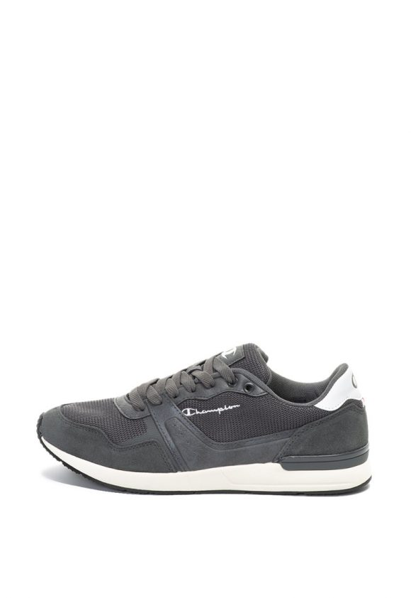 Pantofi sport cu insertii de piele Keops-tenisi-Champion