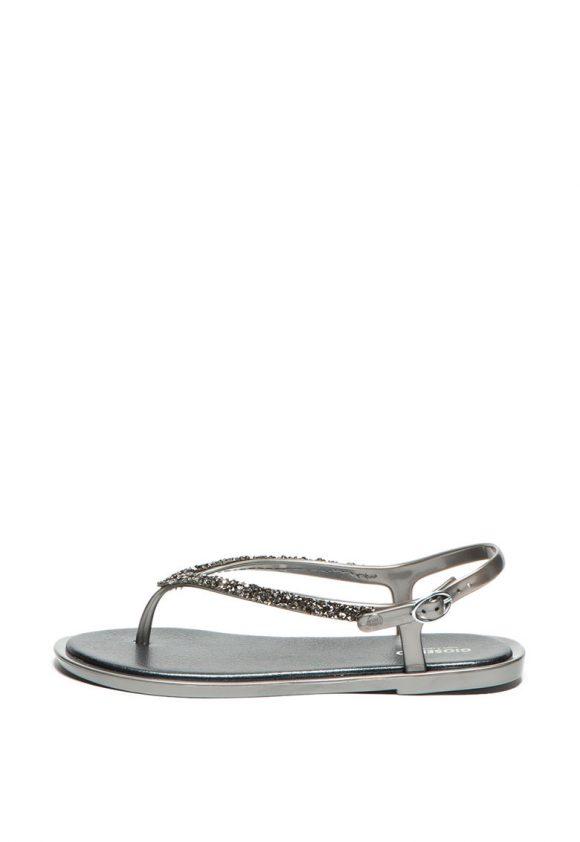Sandale cu aplicatii de strasuri Trikala-sandale-Gioseppo