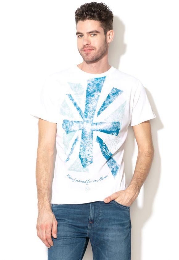 Tricou slim fit cu imprimeu grafic Ian-tricouri-Pepe Jeans London