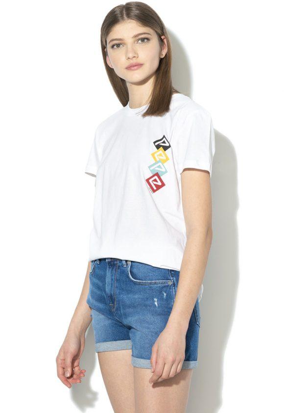 Tricou cu imprimeu logo Sammy-tricouri-Pepe Jeans London